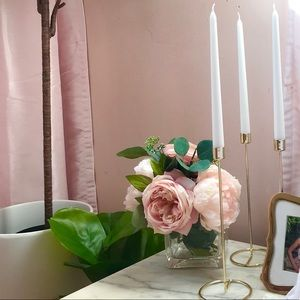Small, medium & large candle holders